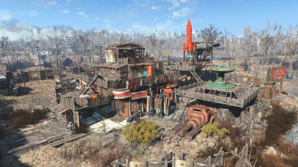 Fallout 4: Die spektakulärsten Siedlungen | Fallout | Fallout