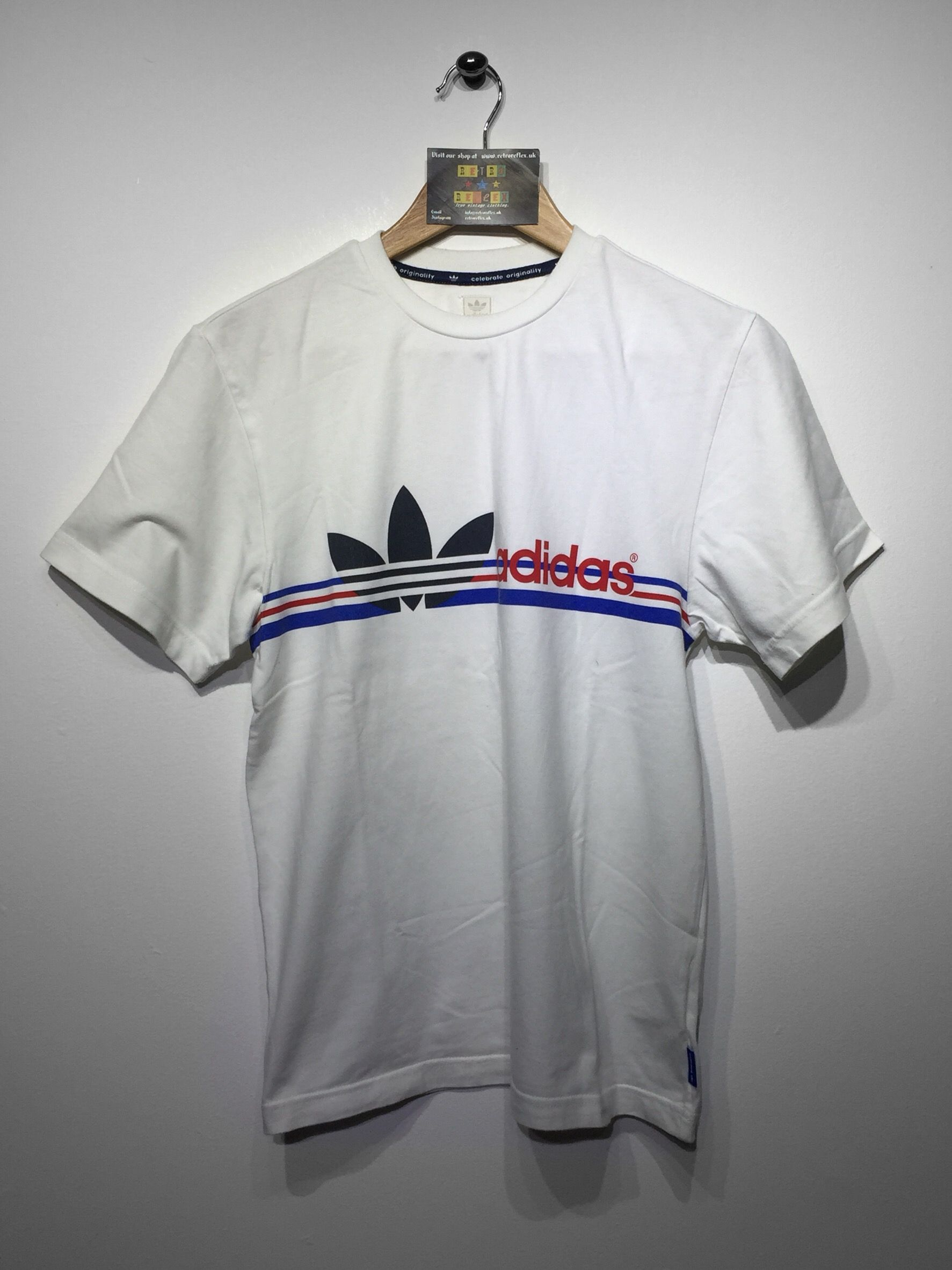 eecba0557e6 Adidas T-Shirt size Small £18 Website➡ www.retroreflex.uk #adidas ...