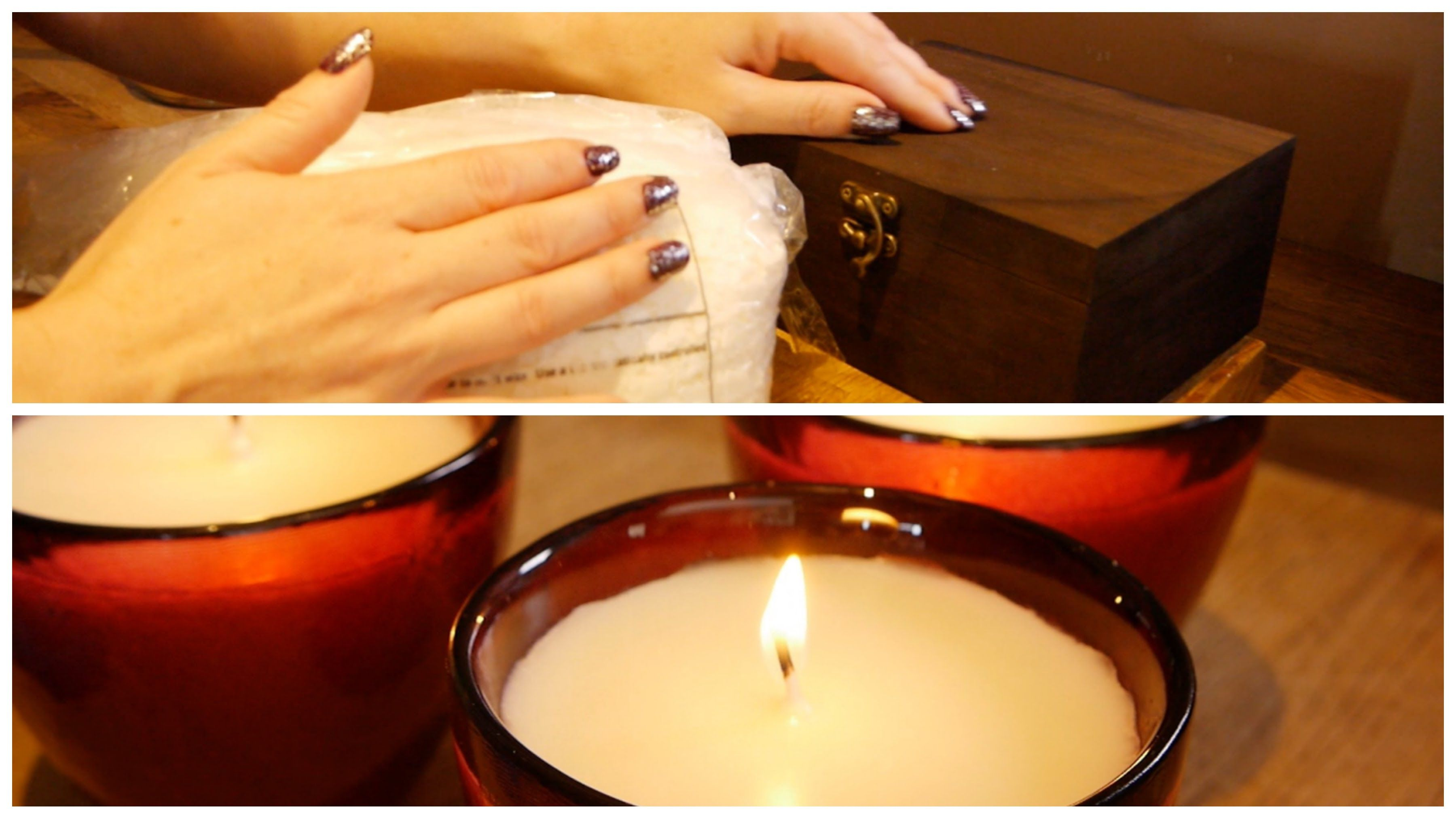 ASMR Soy Candle Making Essential Oils, Wax Flakes
