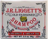 J.R.Liggett's Old Fashioned Bar Shampoo Coconut & Argan Oil