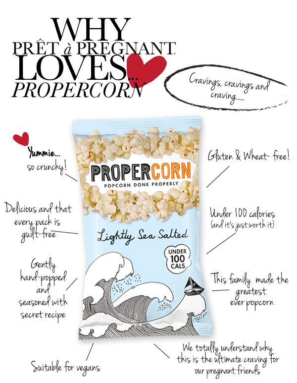 Why Prêt à Pregnant loves… PROPERCORN popcorn is gluten ...