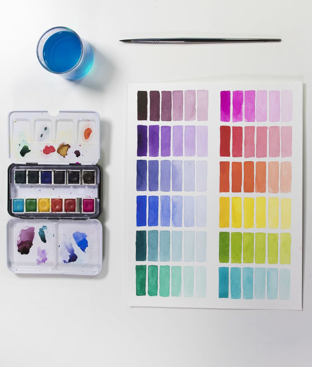 Limited Edition Watercolor Set Josie Lewis Art Supplies List