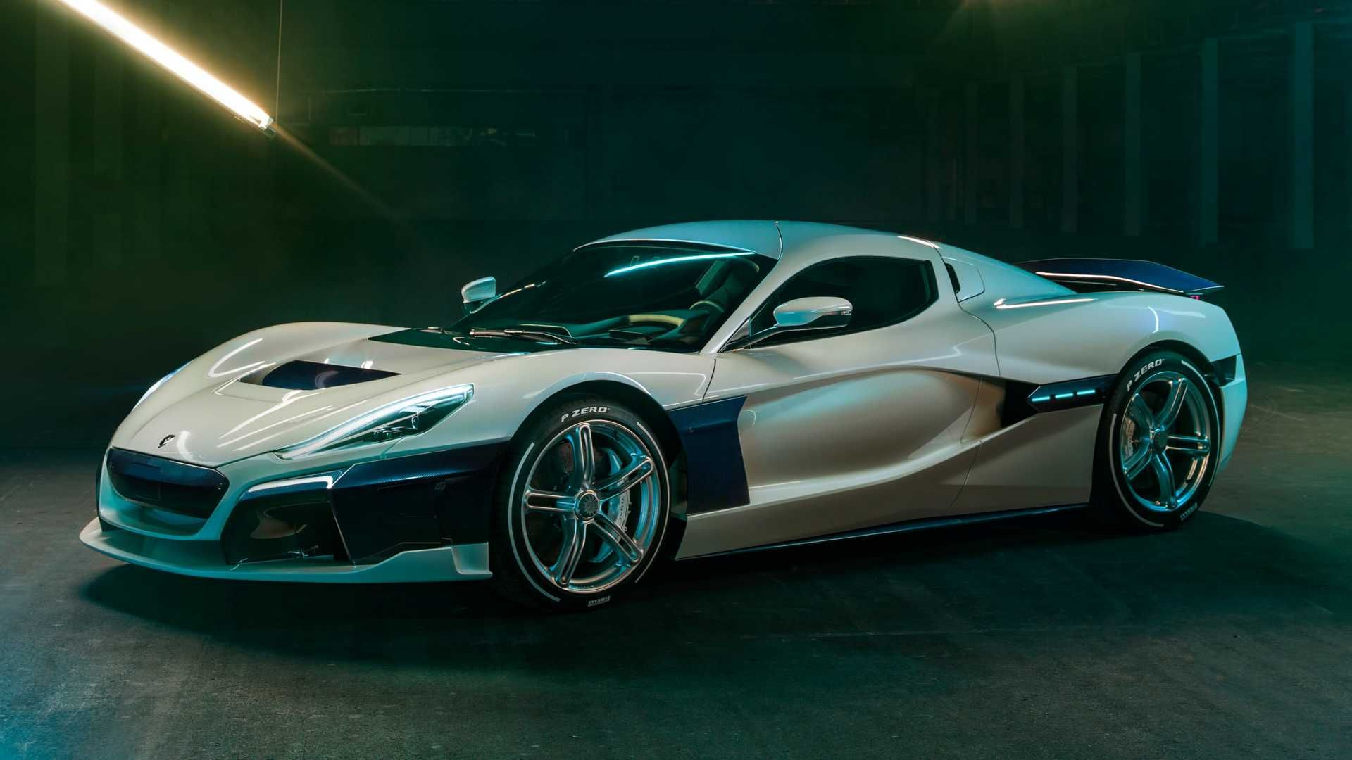 Rimac C Two Galactic Geneva 2019 Electric Sports Car Expensive Cars Most Expensive Car
