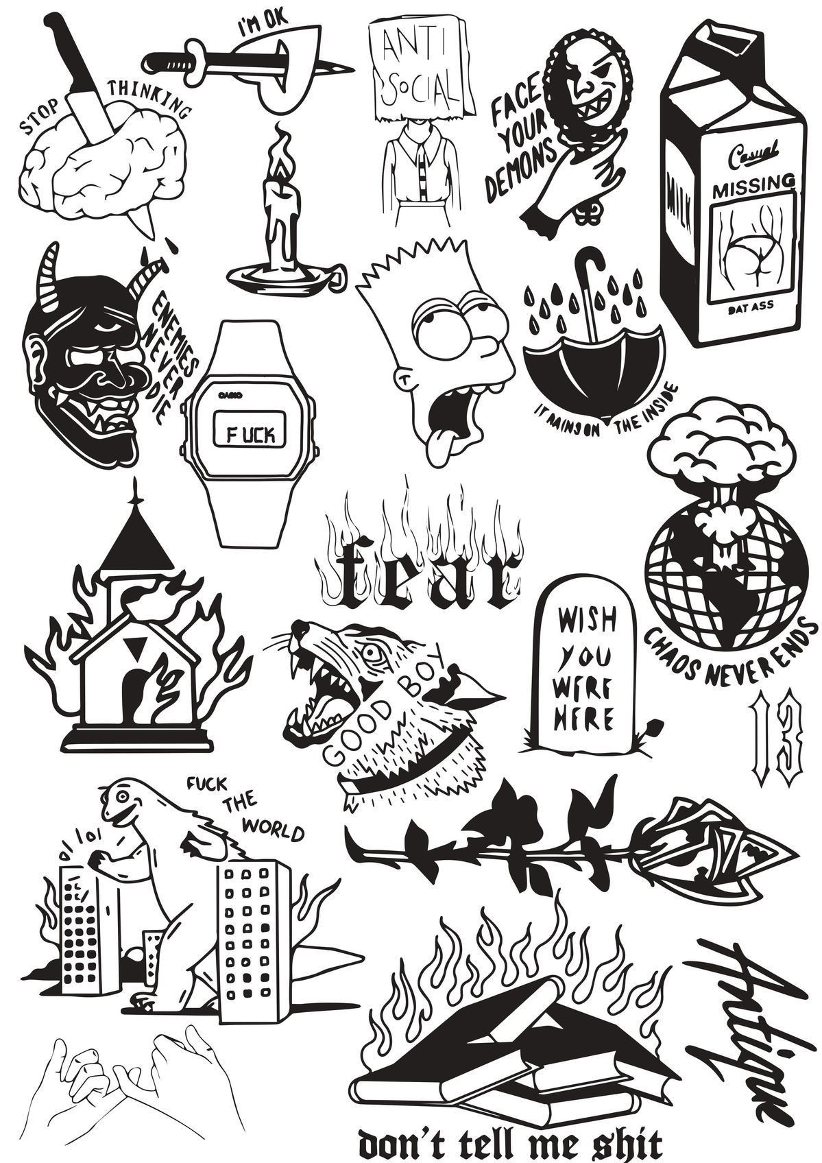 Photo of TATTOO OLD SCHOOL INSPIRATIONS