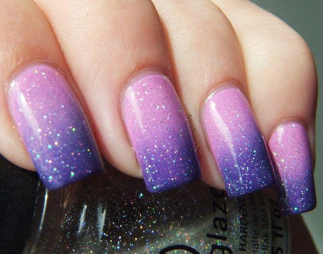 Nails Inc China Glaze Gradient Nails