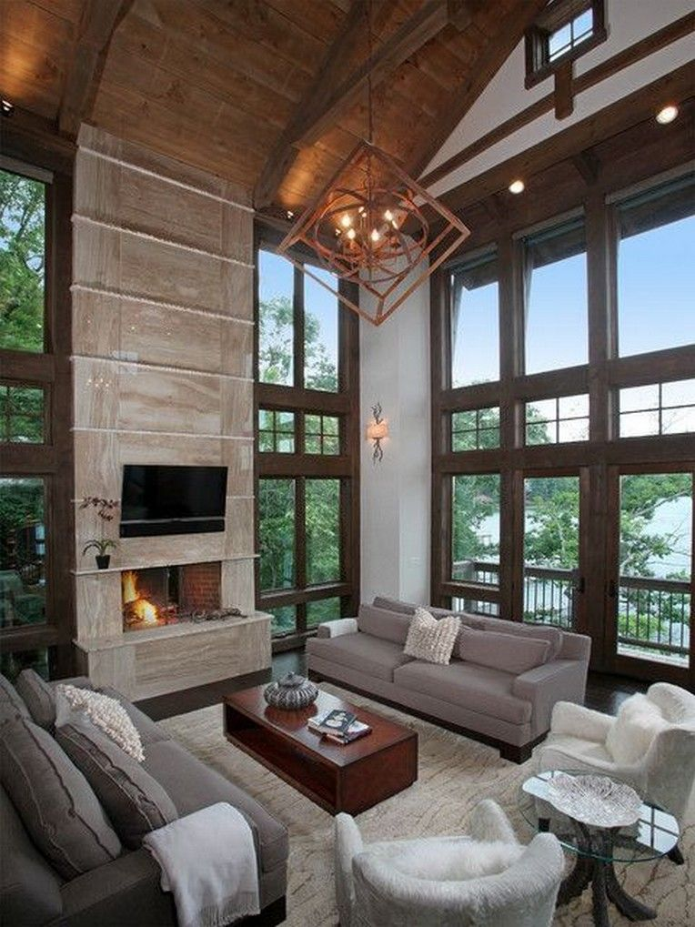 Artsy Living Room: 13 Cool Rustic Interior Ideas For Artistic Architecture