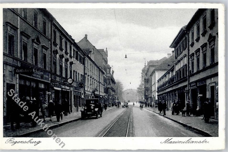 8400 Regensburg Maximilianstrasse Geschäfte
