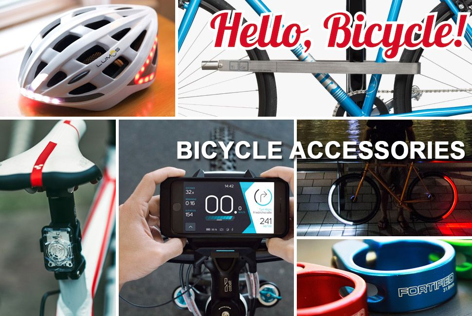 Purchase Best Bicycle Accessories Online At The Best Costs And