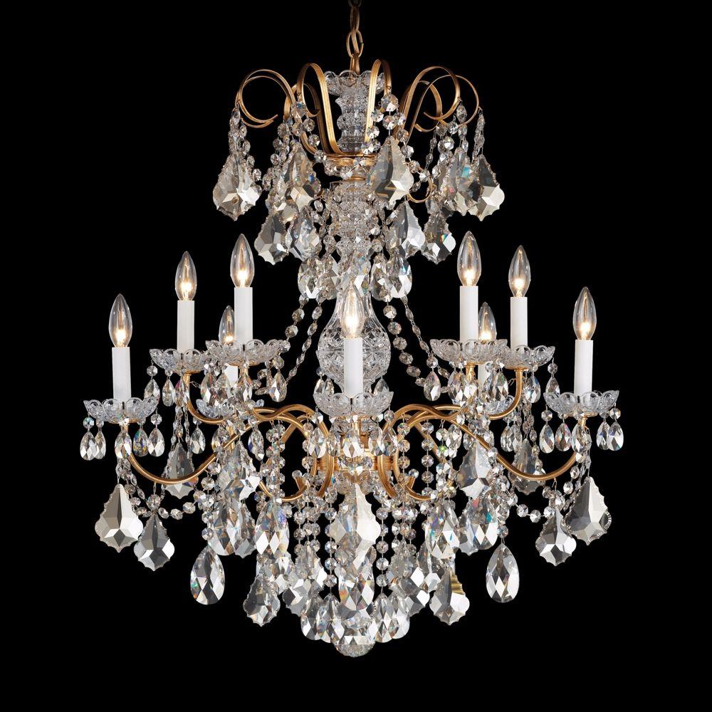 Schonbek new orleans 28w gold swarovski crystal chandelier style schonbek new orleans 28w gold swarovski crystal chandelier style n8459 aloadofball Choice Image
