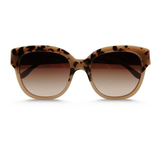 Stella Mccartney Cat Eye Sunglasses found on Polyvore