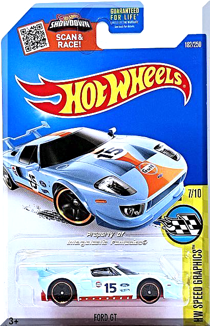 Hot Wheels Ford Gt Hw Speed Graphics 7 10 182 250 2016