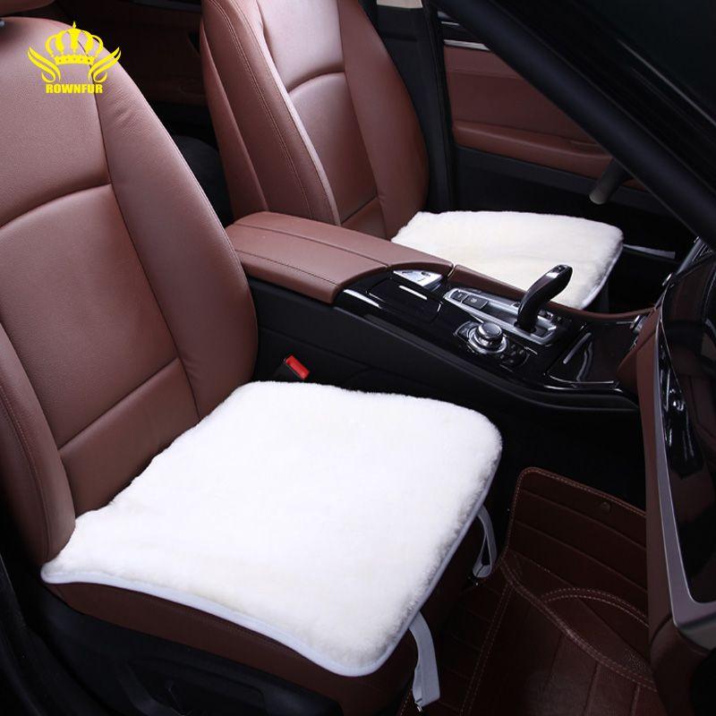Us 14 25 Rownfur 1pc For Front Car Seat Covers Faux Fur 50cmx50cm For Kia Ceed Lada Granta 50cmx50cm Ceed Covers Faux Front Granta Lada Rownfur Sea