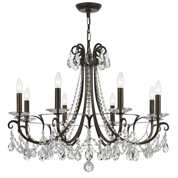 The portman collection offers an updated look to a classic the portman collection offers an updated look to a classic chandelier the scroll metalwork offers aloadofball Images