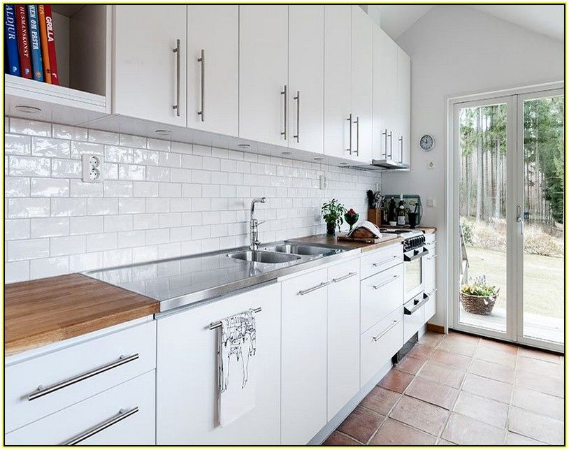 Rustic White Kitchen Ideas white brick tile - google search | fair kitchen | pinterest