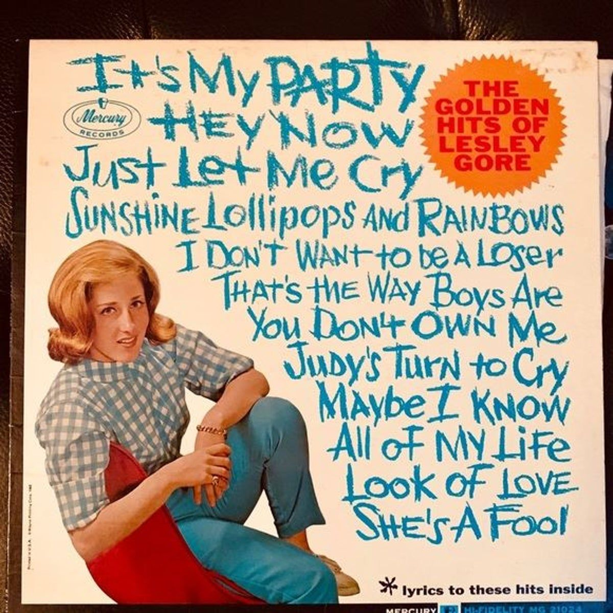 Pin By Chuck Williams On Album Covers In 2020 Lesley Gore Gore I Party