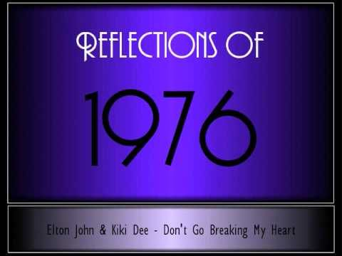 Stroll down memory lane with the music of 1976 - USA.    1. Silly Love Songs, Paul McCartney and Wings  2. Don't Go Breaking My Heart, Elton John and Kiki Dee  3. Disco Lady, Johnnie Taylor  4. December, 1963 (Oh, What A Night), Four Seasons  5. Play That Funky Music, Wild Cherry  6. Kiss And Say Goodbye, Manhattans  7. Love Machine (Part 1), The Miracl...