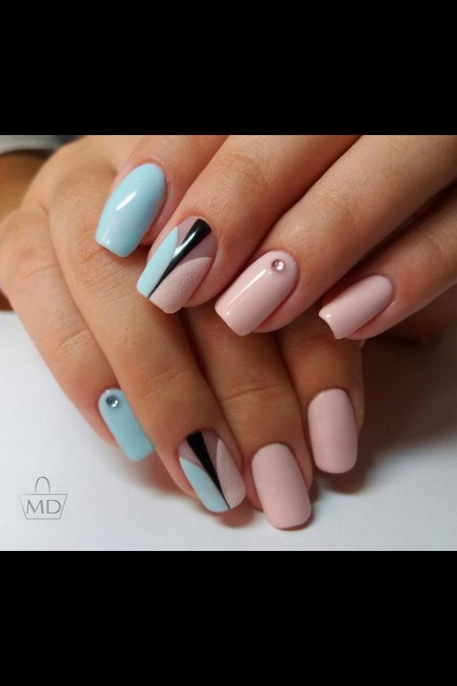 Pin de Iren Kos en Маникюр, педикюр | Pinterest | Diseños de uñas y ...