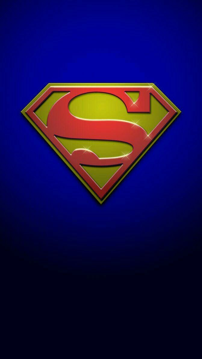 Superman (With images)   Iphone 5c wallpaper, Logo ...