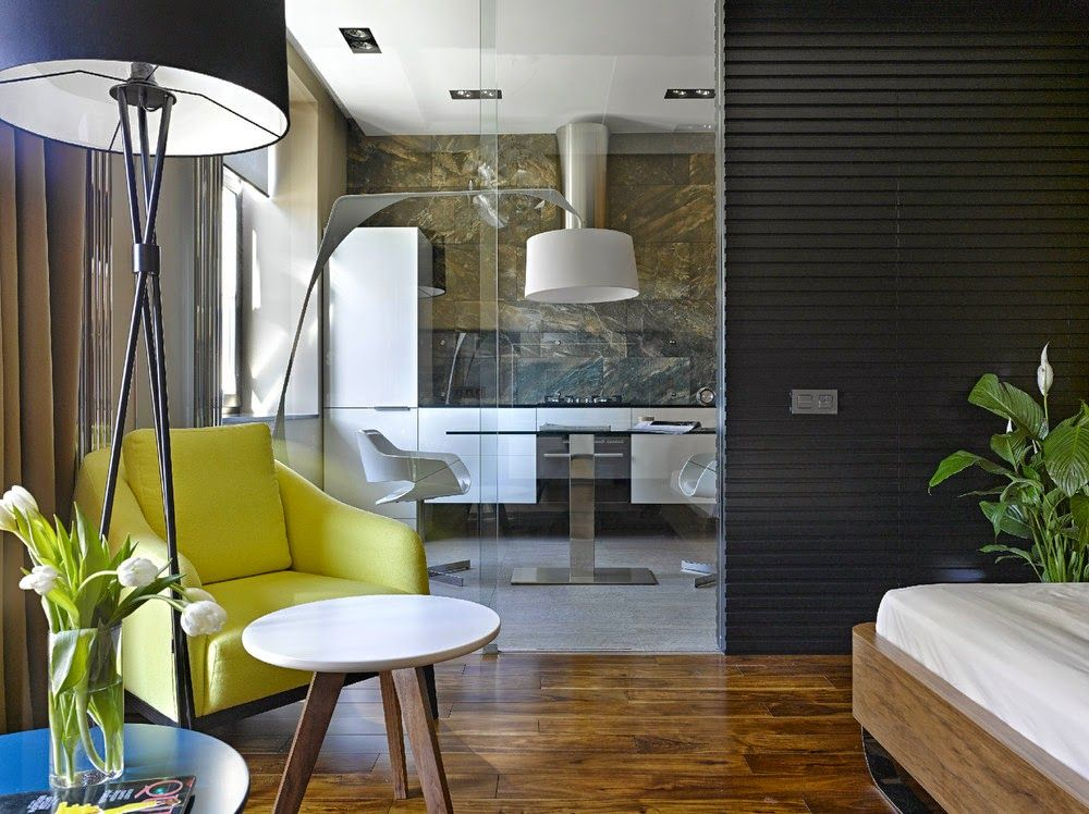 cool studio apartment