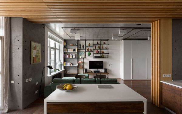 Modern Kiev Apartment with Industrial Details | Apartments ...