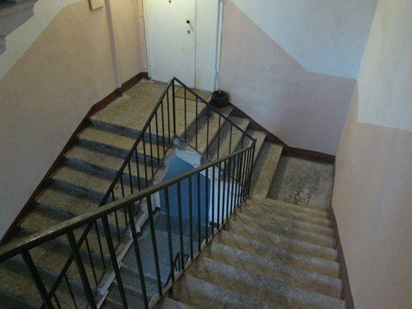 Escaleras mal alineadas