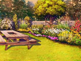 Anime Landscape Anime Park Background Anime Background Anime Scenery Anime Backgrounds Wallpapers