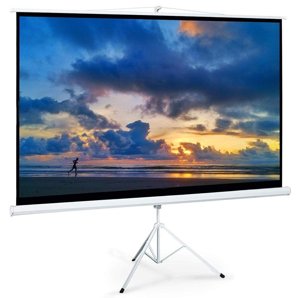 Indoor Outdoor 100 Inch Projector Screen With Stand Nova Knox Outdoor Projector 100 Inch Projector Screen Outdoor Projector Screens