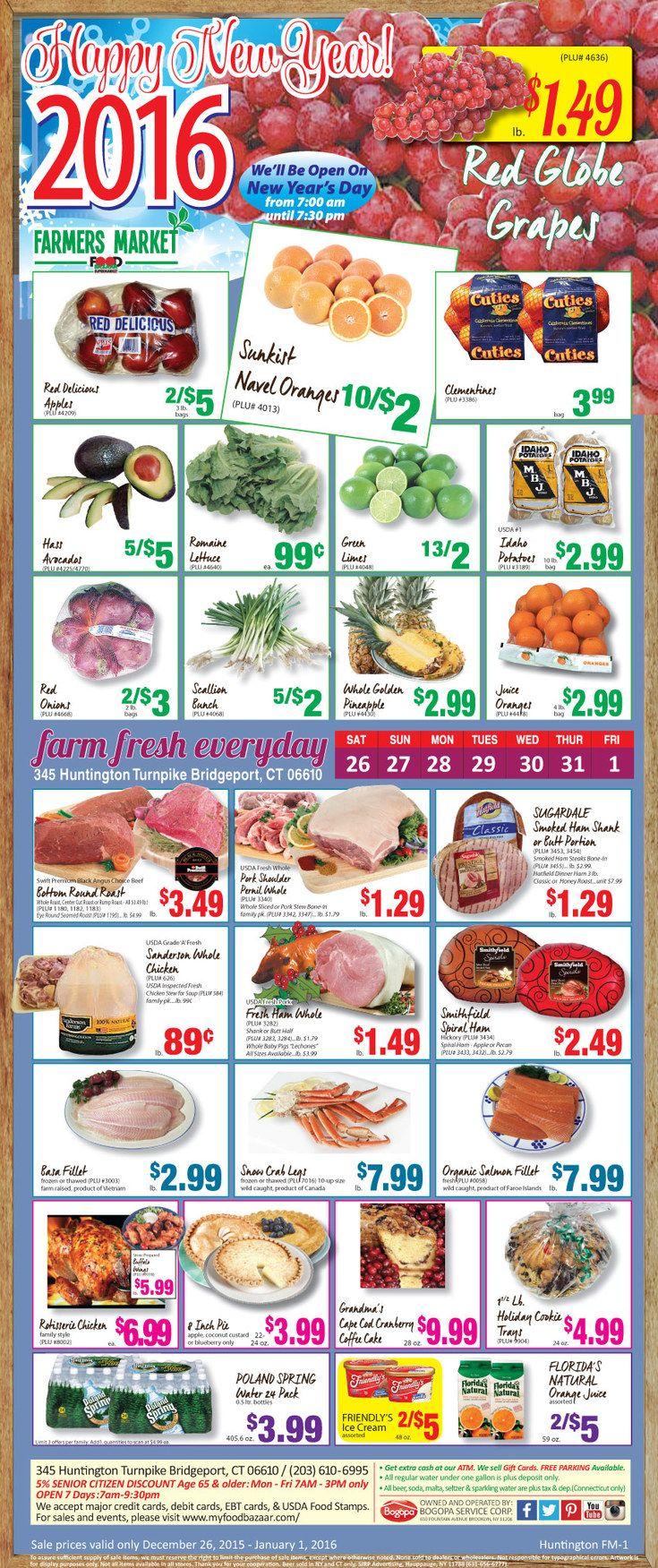 Food bazaar weekly ad february 28 march 6 2019