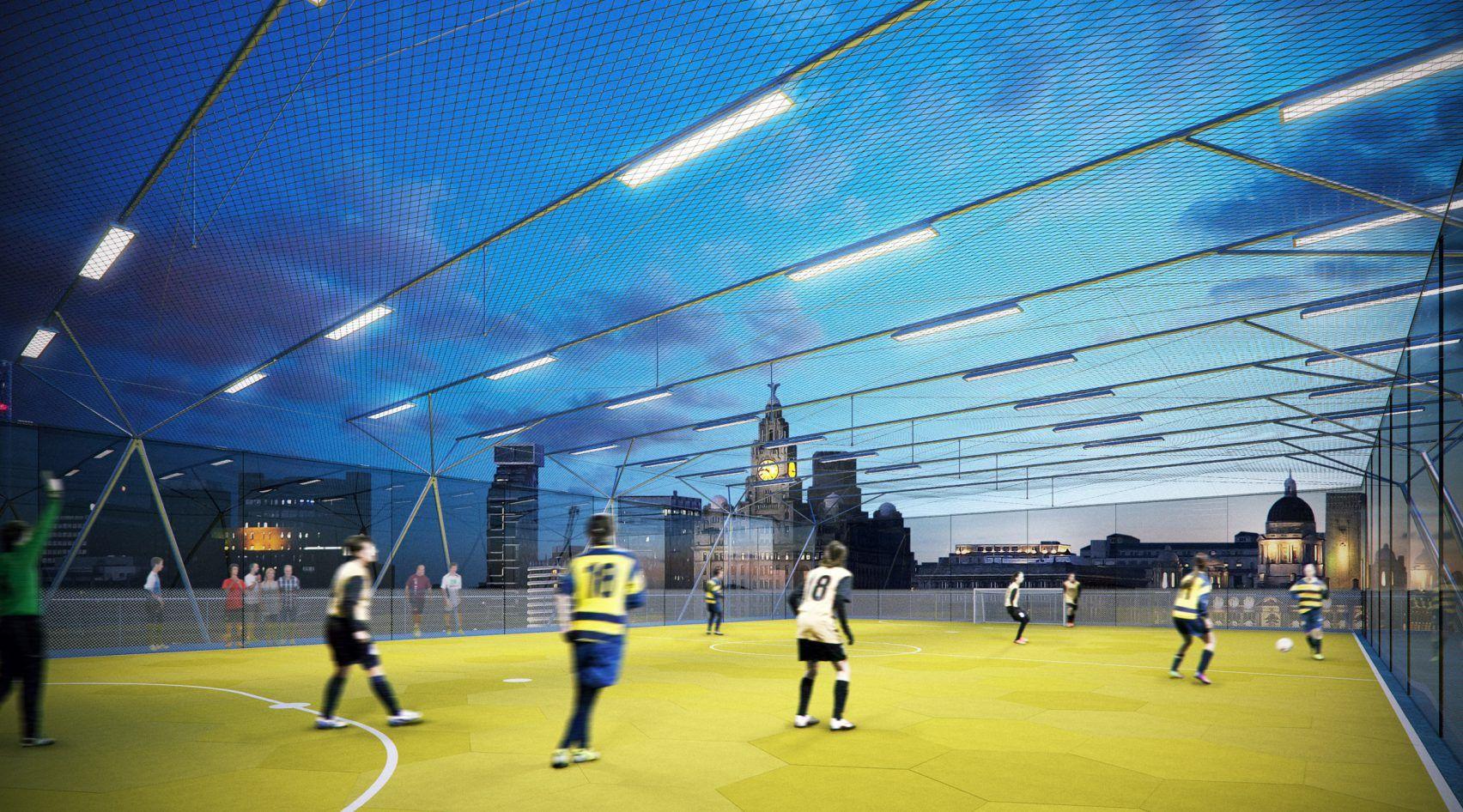 Singapore Sportshub Dp Architects College Architecture Retail Space Design