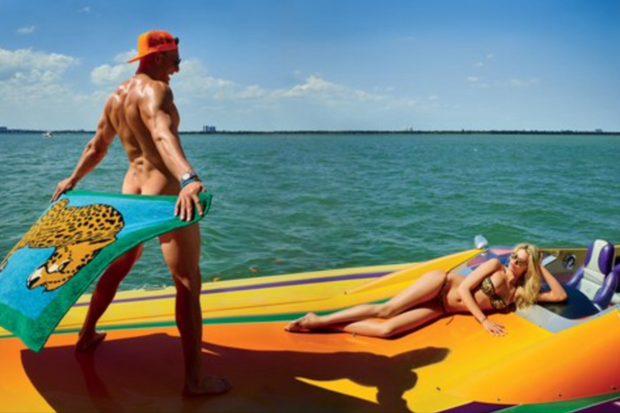 Witness Rob Gronkowski and Hailey Clauson in All Their