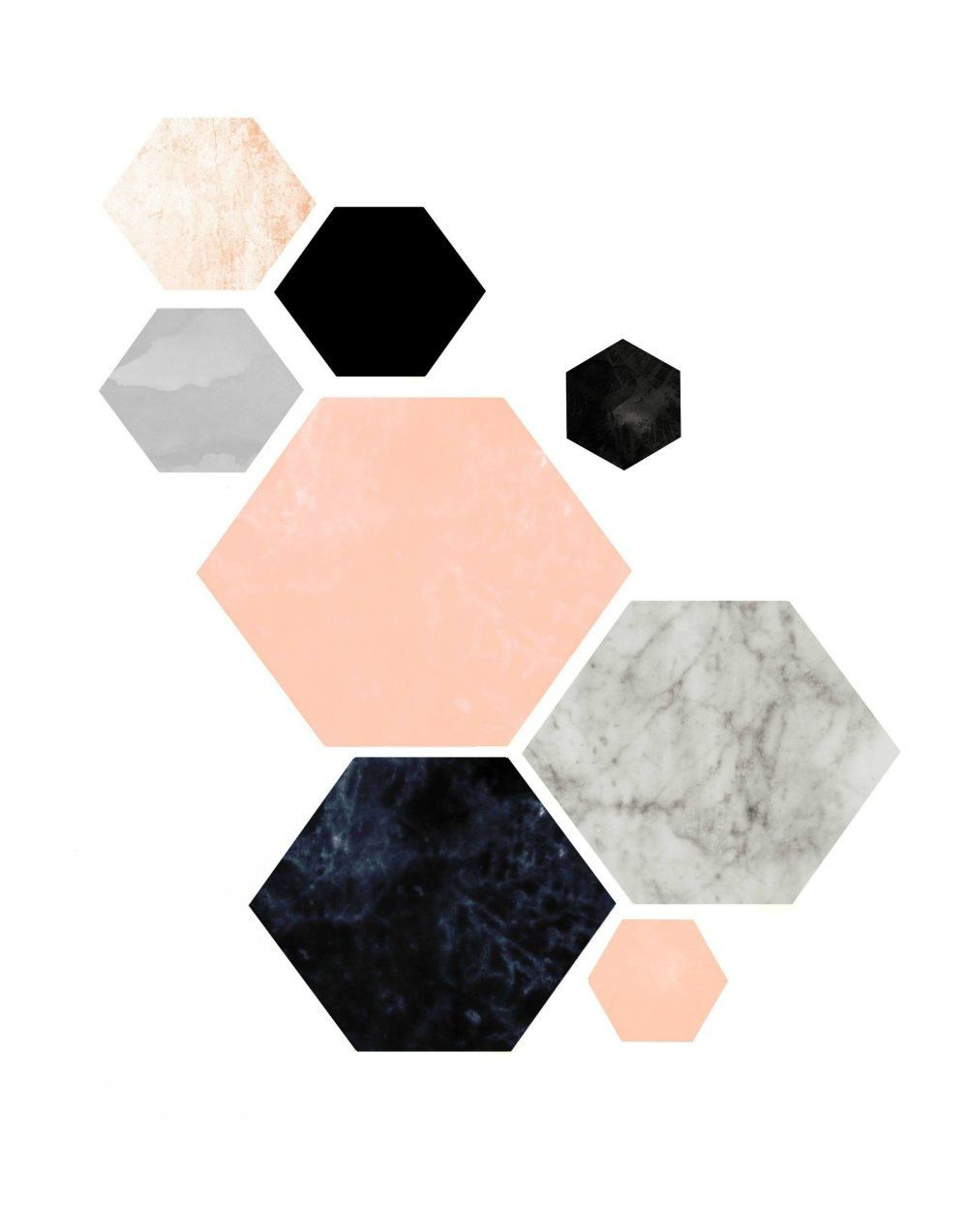 Triptych Wall Art, Geometric Prints, Set of 3 Prints, Scandinavian ...