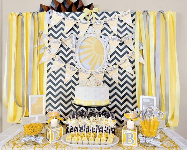 You Are My Sunshine (Gender Neutral) Baby Shower // Hostess With The  Mostess®