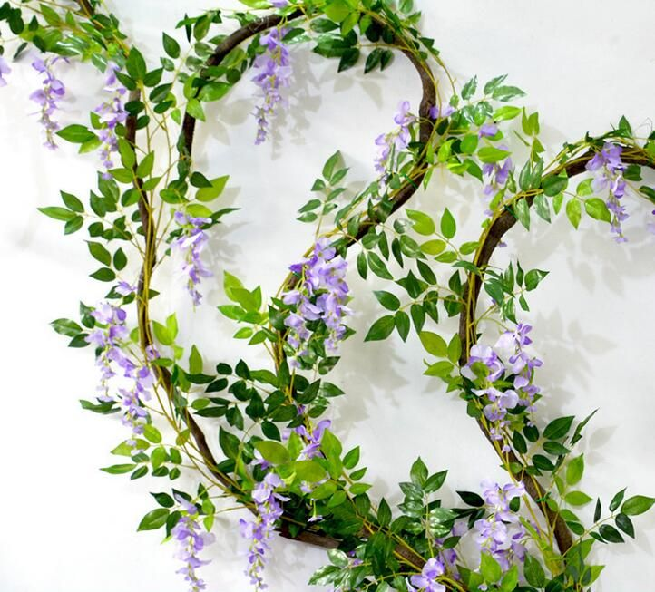 Cheap Flower Vine Buy Quality Artificial Wisteria Directly From