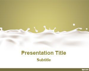 Dairy Template Ppt Background  Ppt    Dairy Template