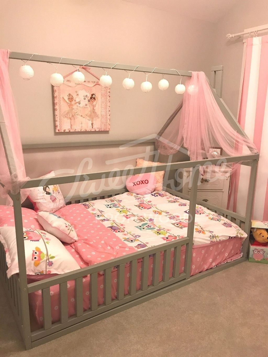 Impressive Girls Bedroom Ideas With Princess Themed 01