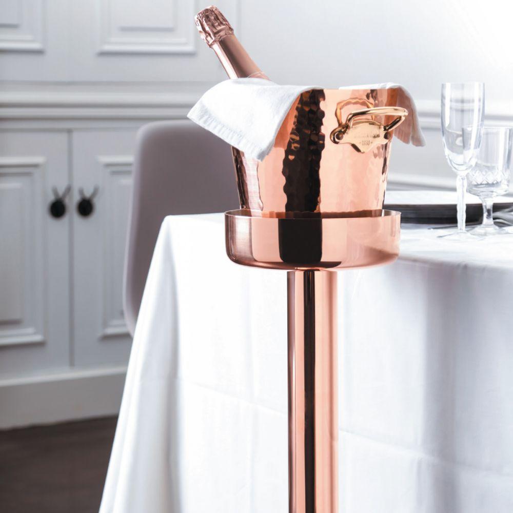 Mauviel M 30s Copper Champagne Bucket Holder France Corner