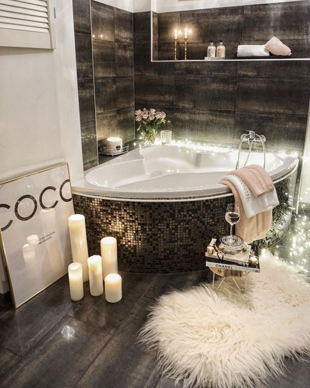 Cool 46 Stunning Spa Bathroom Decorating Ideas Bathrooms Remodel