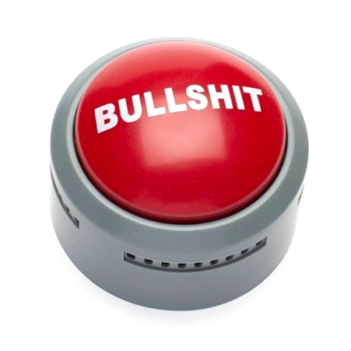 Bullshit Button, Sound Button, Office Toys, Funny Office