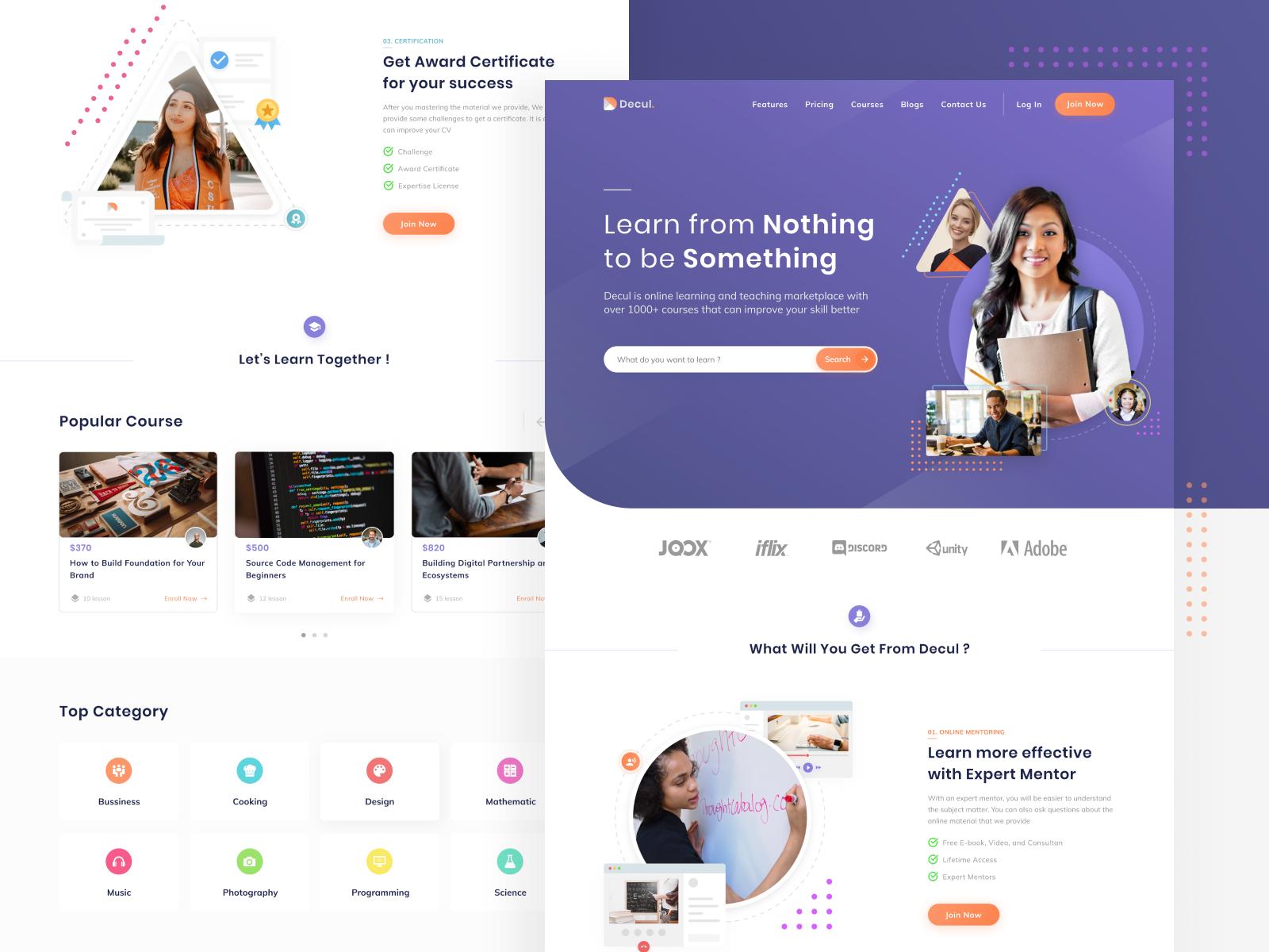 Online Course Website In 2020 Online Web Design Online Course Design Course Web