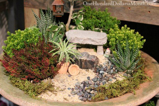 17 best 1000 images about Miniature Gardens on Pinterest Gardens