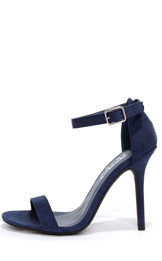 Dark Blue Ball Shoes