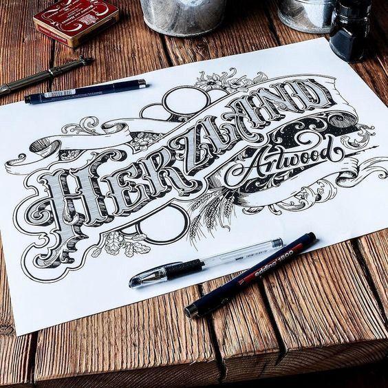 Typography inspiration Tipografía antigua, Tipografía