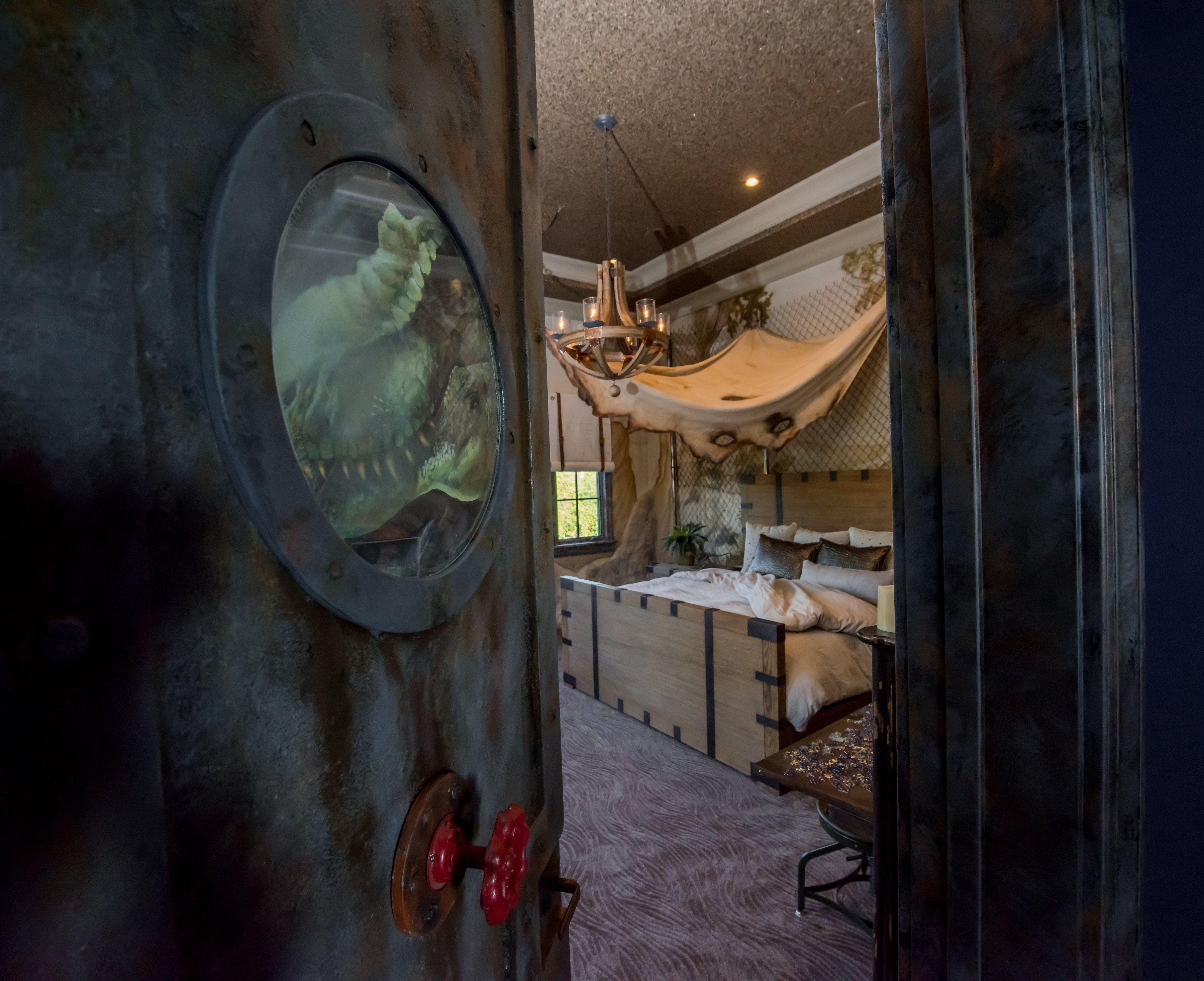 Jurassic Park Bedroom – Derrick Builders  Dinosaur bedroom