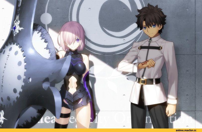 Fujimaru Ritsuka Male Fate Grand Order Fate Series Fate Srs