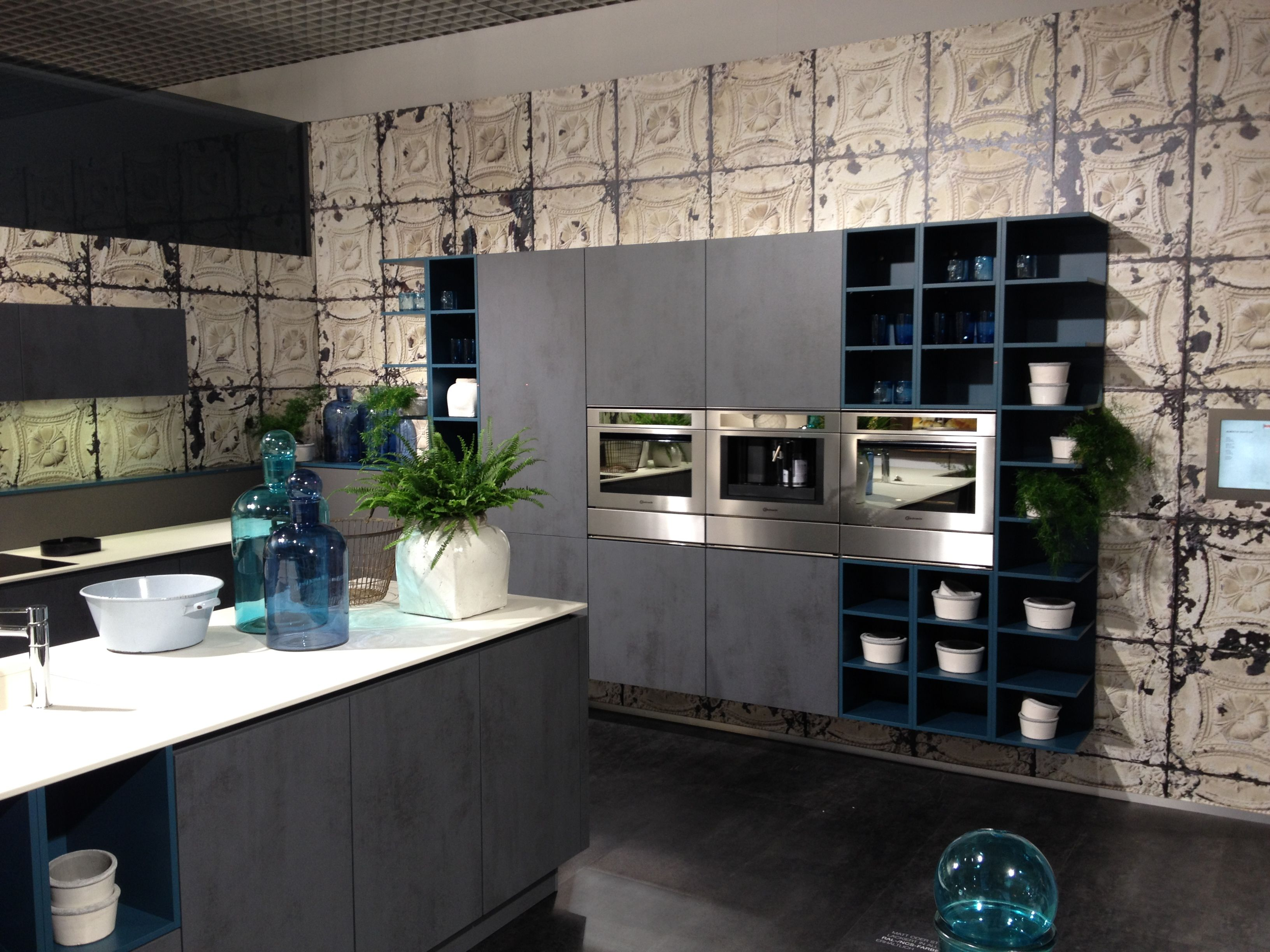 About alno modern kitchens on pinterest modern kitchen cabinets - Modern Alno Star Dur In Oxide Grey