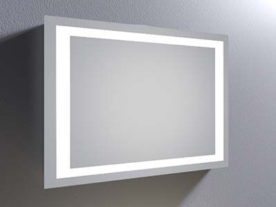 Photo Gallery On Website Mirror Calypso Super Bright LED Bathroom