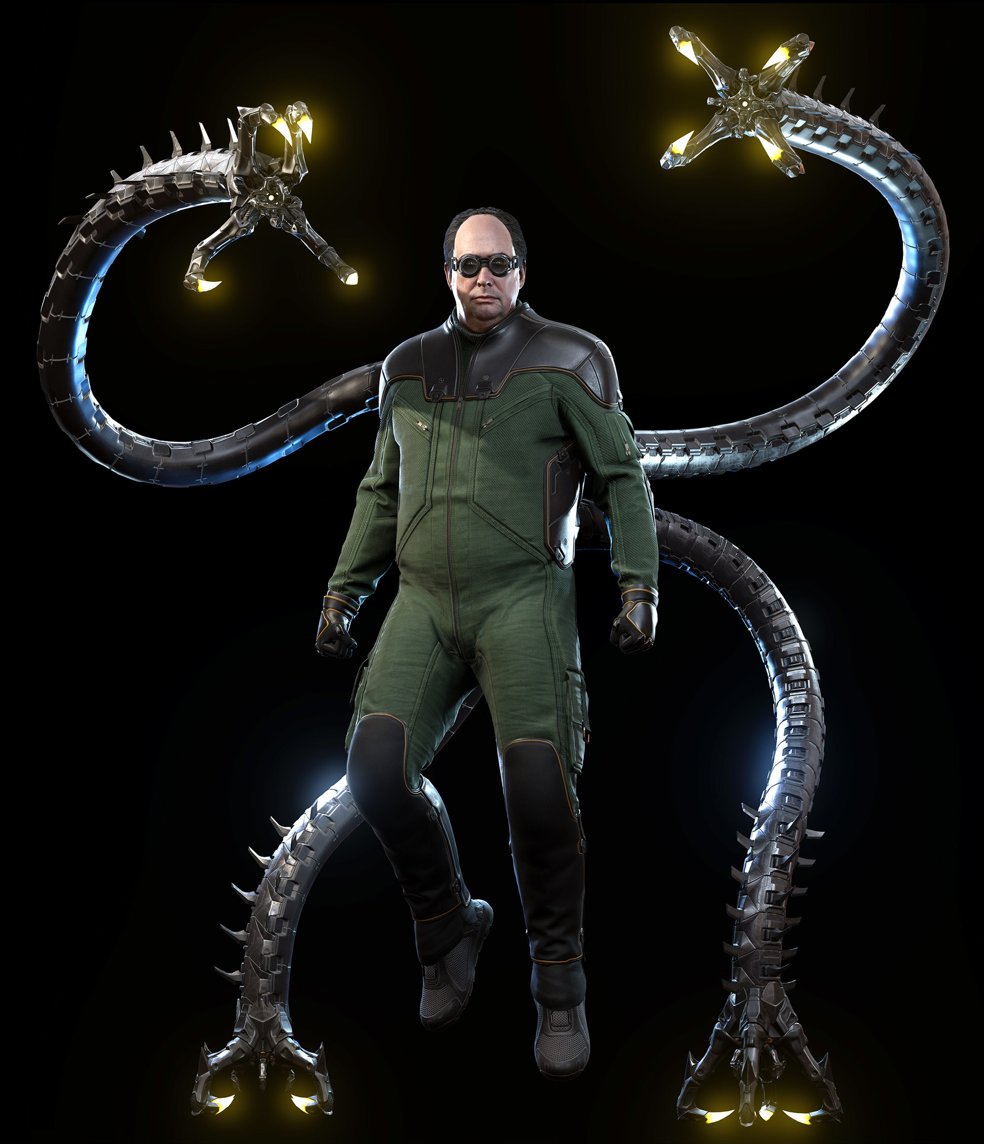 Otto Octavius Also Known By His Media Nickname Doctor Octopus Is The Main Antagonist Of Marvel S Spider Man Spiderman Art Marvel Spiderman Marvel Comics Art