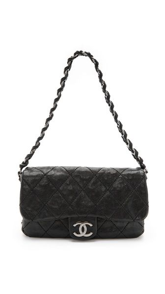 a380b0b17fcc Vintage Chanel Caviar Curb Chain Bag | Bags! | Vintage chanel ...