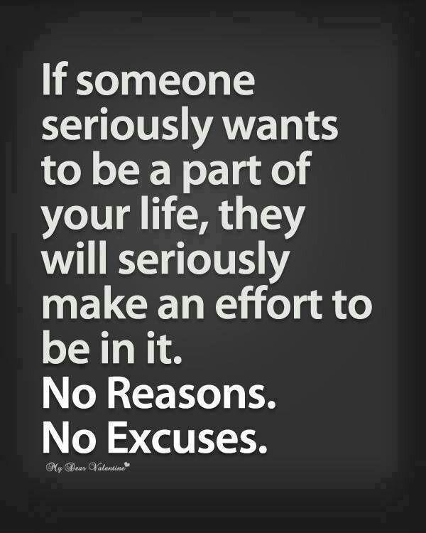 If someone...