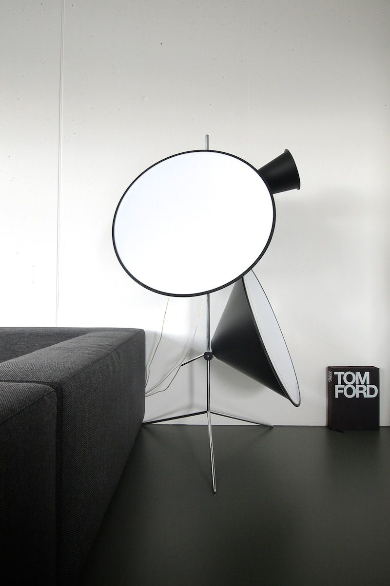 Tom Dixon Cone Light Stand Stand Light Light Mirror Table